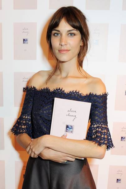 Alexa Chung from her book, It