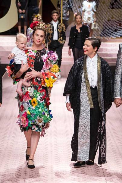0134c1dacd499 Dolce   Gabbana Spring Summer 2019 Ready-To-Wear show report ...