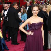 Jessica Alba at the 2008 Academy Awards
