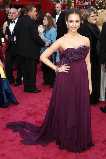 Jessica Alba at the 2008 Academy Awards