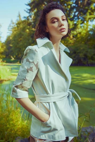 Petal Wrap Jacket by Alyson Eastman