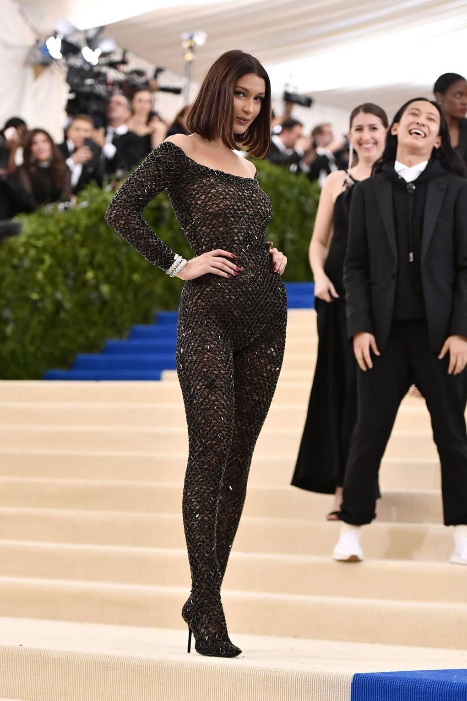 Bella Hadid. Foto: Vogue.
