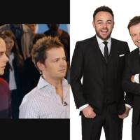 Ant and Dec as themselves.