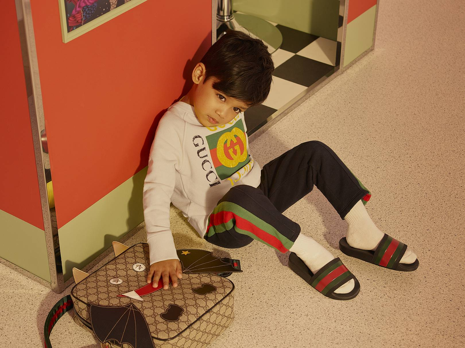 Gucci Childrenswear Launches On Net-A-Porter  19c866efbe7