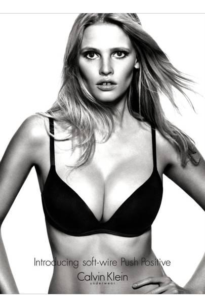 Lara Stone for Calvin Klein, 2012
