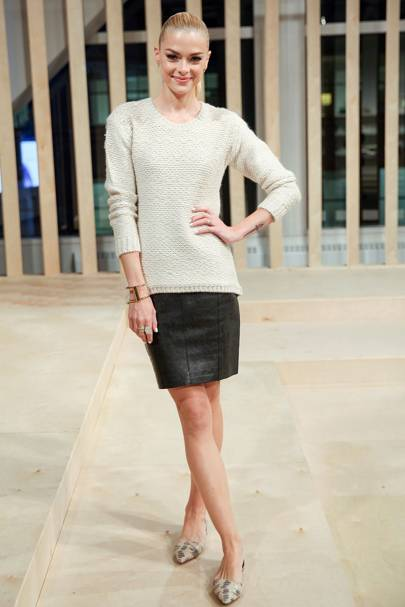 Ann Taylor spring/summer 2015 collection, New York - October 16 2014