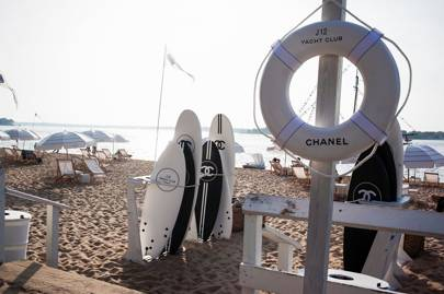 Chanel Brings Back Its Cult Surfboards For A Yacht Club That's