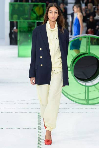 Lacoste Spring Summer 2018 Ready-To-Wear show report   British Vogue 892afcad5136