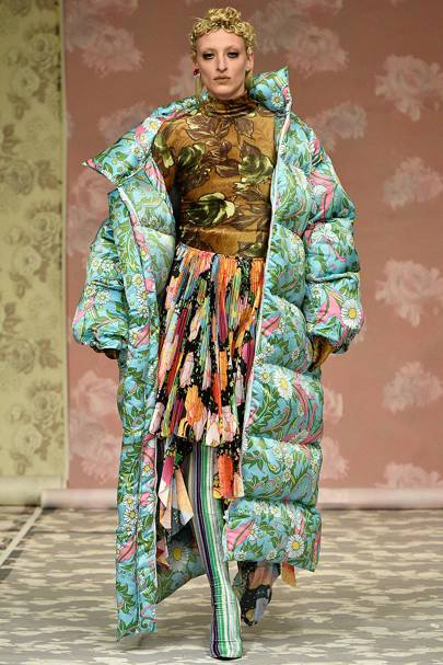 Richard Quinn Autumn Winter 2018 Ready To Wear Show Report British Vogue