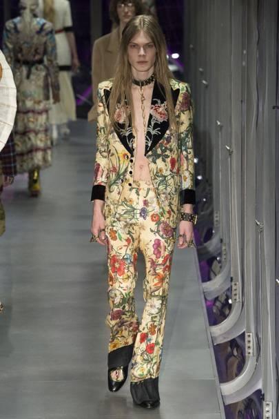f866626b3c4 Gucci Autumn Winter 2017 Ready-To-Wear show report