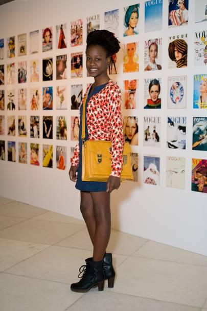 Nia Morris, performing arts student