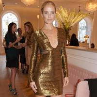 Carolyn Murphy and Cheekfrills collaboration dinner, London - June 10 2015