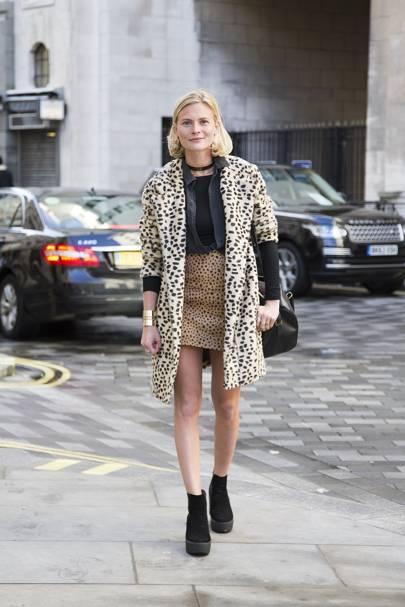 Pandora Sykes, fashion editor