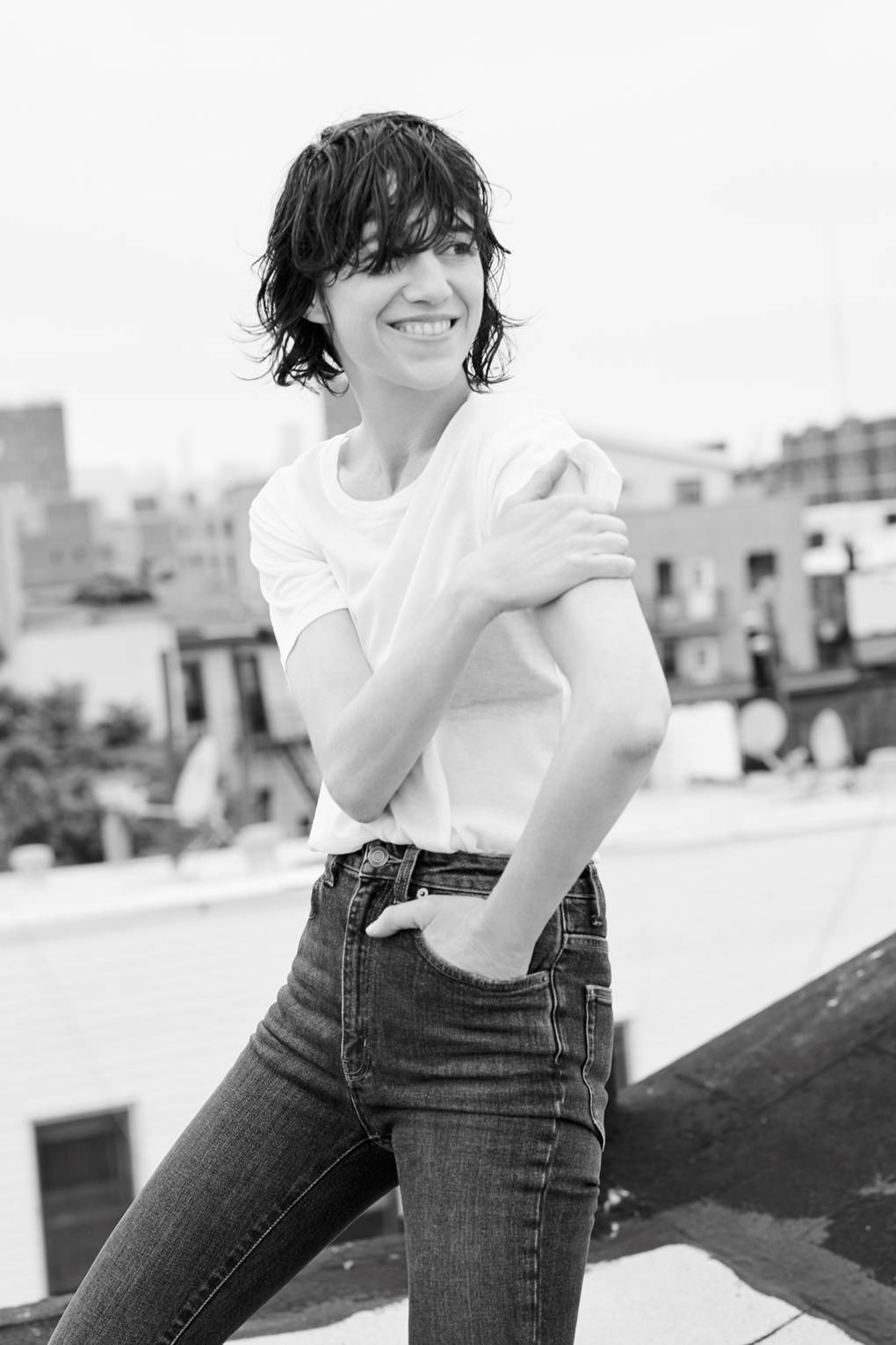 French Icon Charlotte Gainsbourg on Finding Success in Your Forties picture
