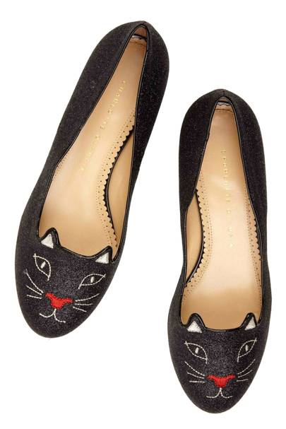 Glitter Kitty shoes