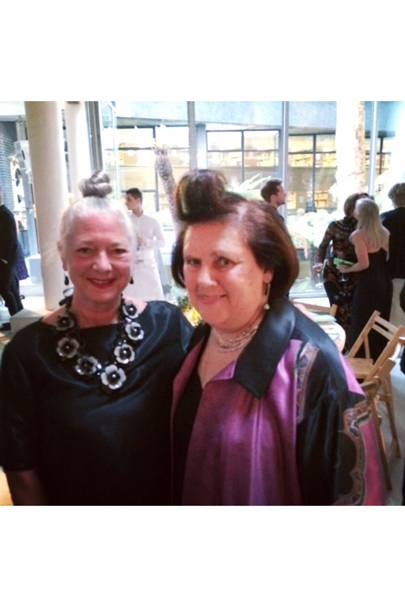 Suzy and professor Wendy Dagworthy