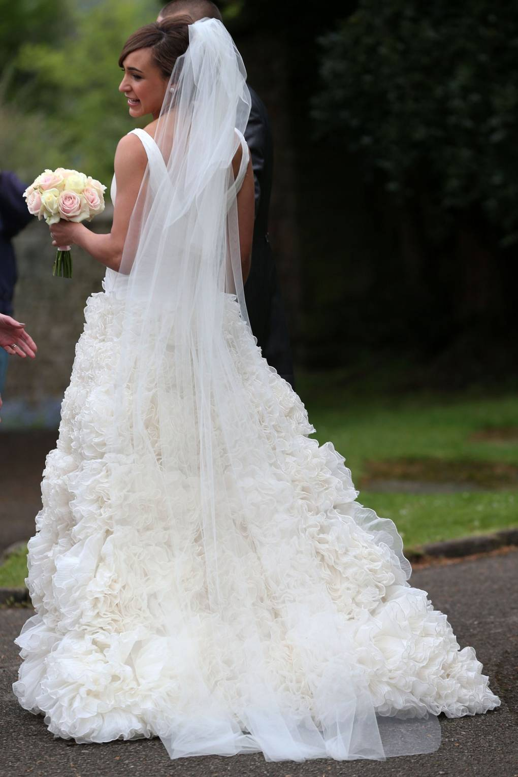 Jessica Ennis Wedding Dress - Marries Andy Hill In Derbyshire ...