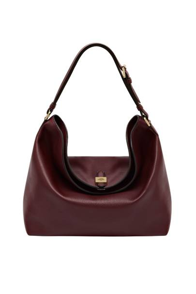 Tessie Hobo In Oxblood 695
