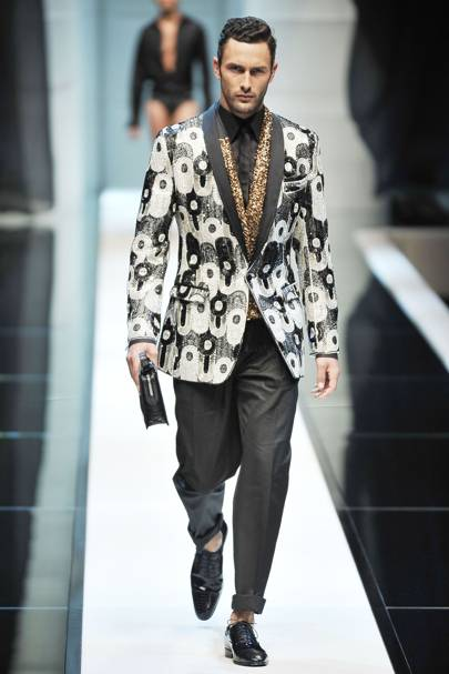 315245e50c040d Dolce & Gabbana Spring/Summer 2010 Menswear show report | British Vogue