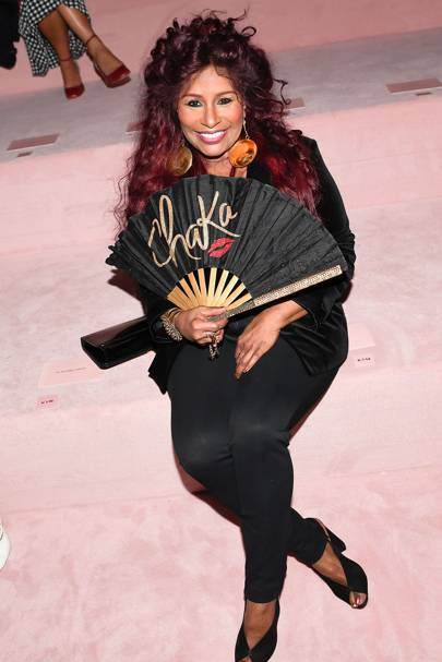 Chaka Kan Was There (With Fan)