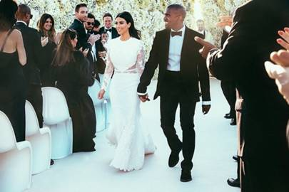 Kim Kardashian's wedding dress, 2014