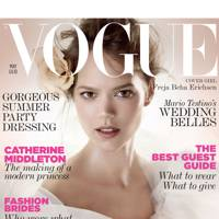 Vogue cover, May 2011
