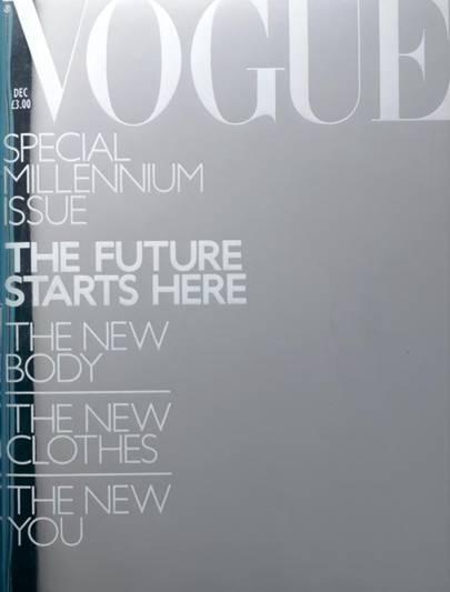 Vogue Cover, December 1999