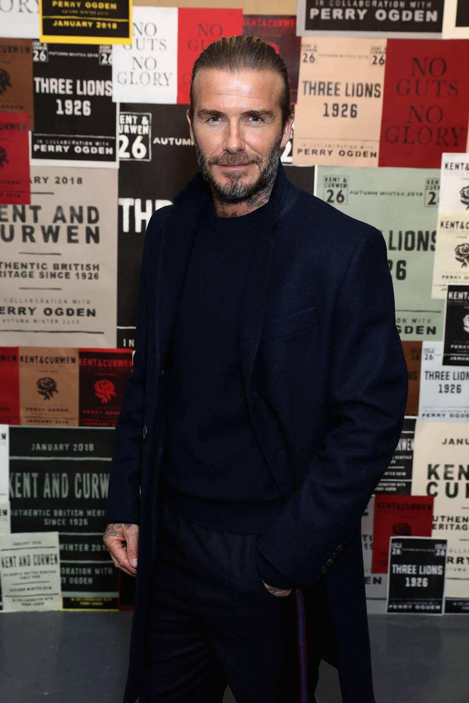 David Beckham Launches Grooming Brand House 99 British Vogue