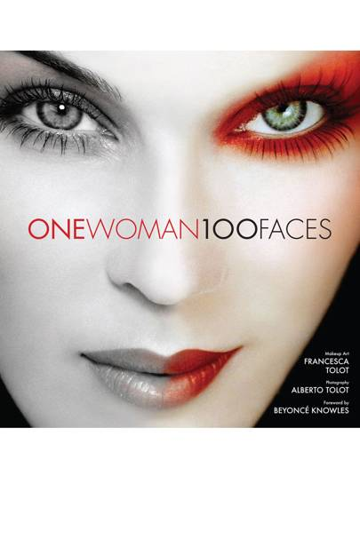 The cover of One Woman 100 Faces, 2014