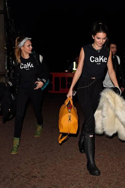 Cara Delevingne and Kendall Jenner