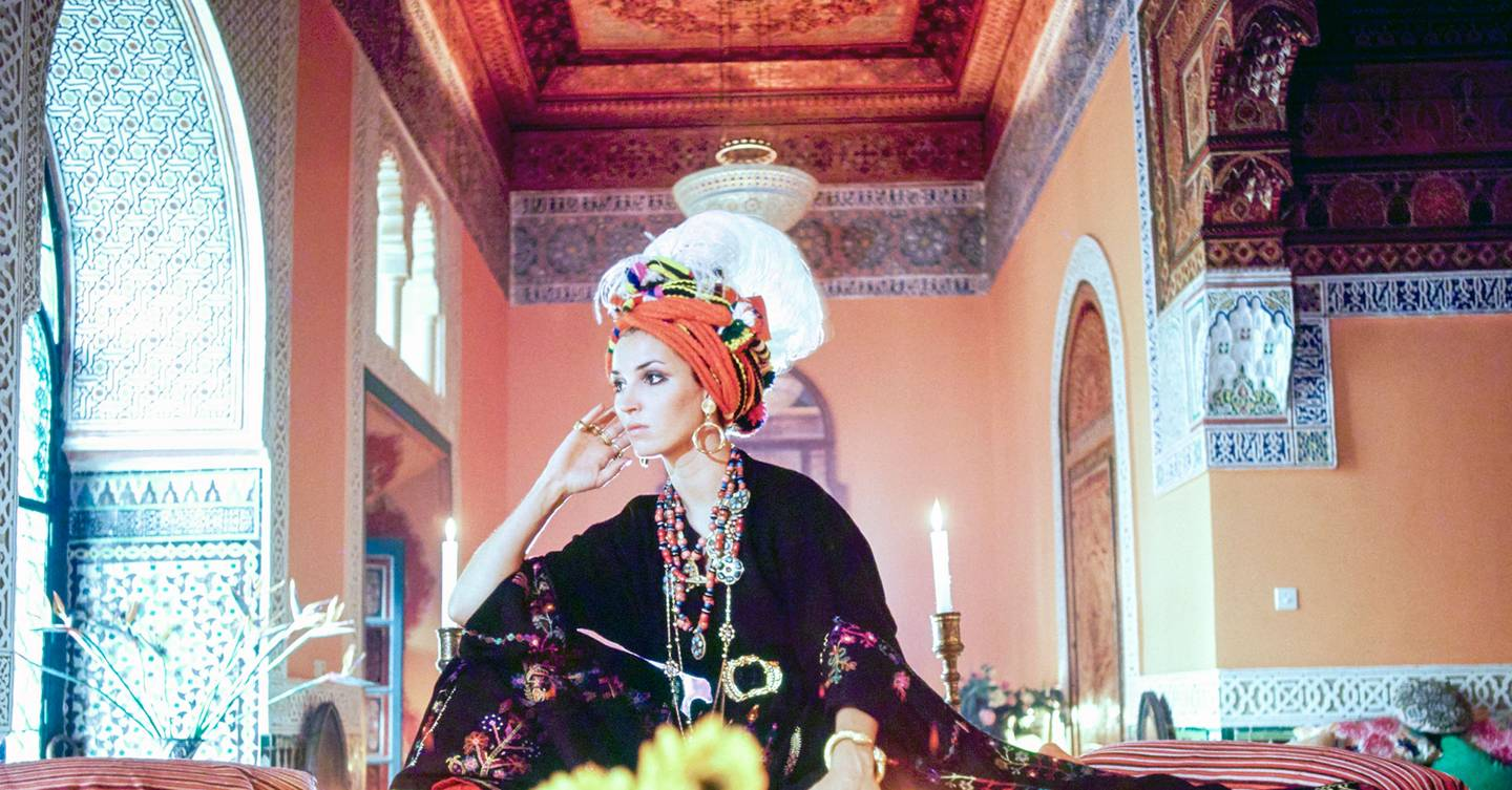 Talitha Getty: The Glamorous Bohemian Muse Of The Season