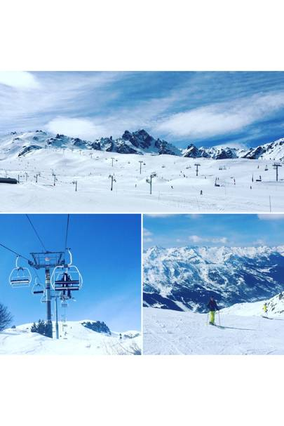 SKI: Courchevel, Méribel and Val Thorens