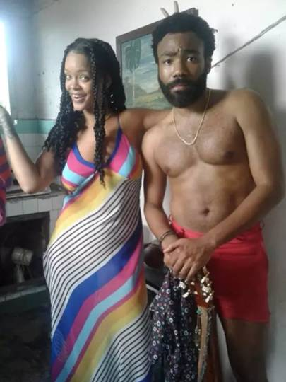 Image result for Glover and Rihanna's short film, Guava Island premiered at Coachella.