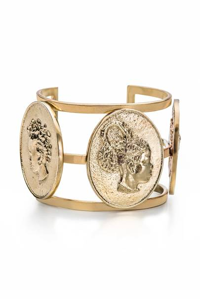 Okhai Cameo Coin Bangle