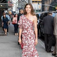 Arriving at 'The Late Show With Stephen Colbert', New York – August 15 2018