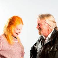 Vivienne Westwood and Richard Branson
