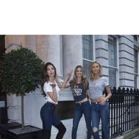 Lily Aldridge, Behati Prinsloo and Karlie Kloss