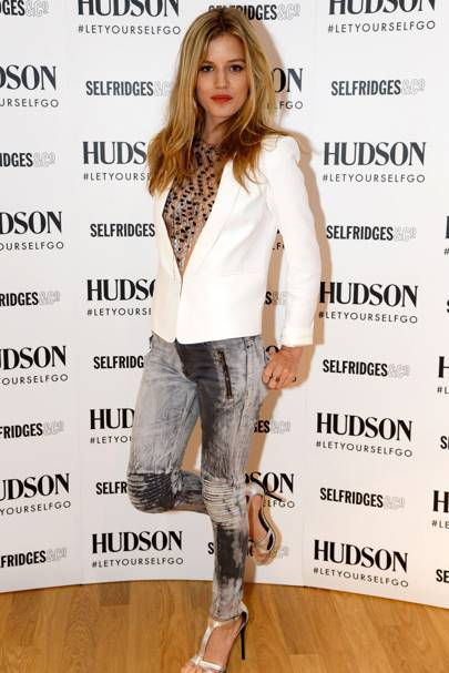 Hudson Jeans Selfridges party, London - July 18 2013