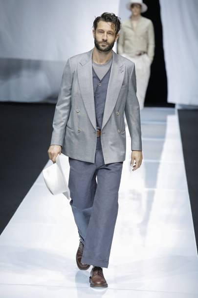 Giorgio Armani Spring Summer 2019 Menswear show report   British Vogue 92fa27d3d0