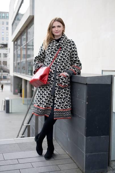 Jane McFarland, fashion writer