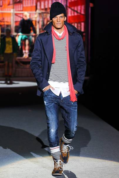 1fb8c67c9f81 Dsquared2 Spring Summer 2012 Menswear show report   British Vogue