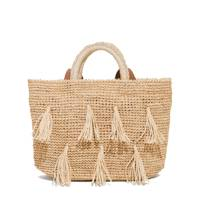 & Other Stories tasselled woven tote