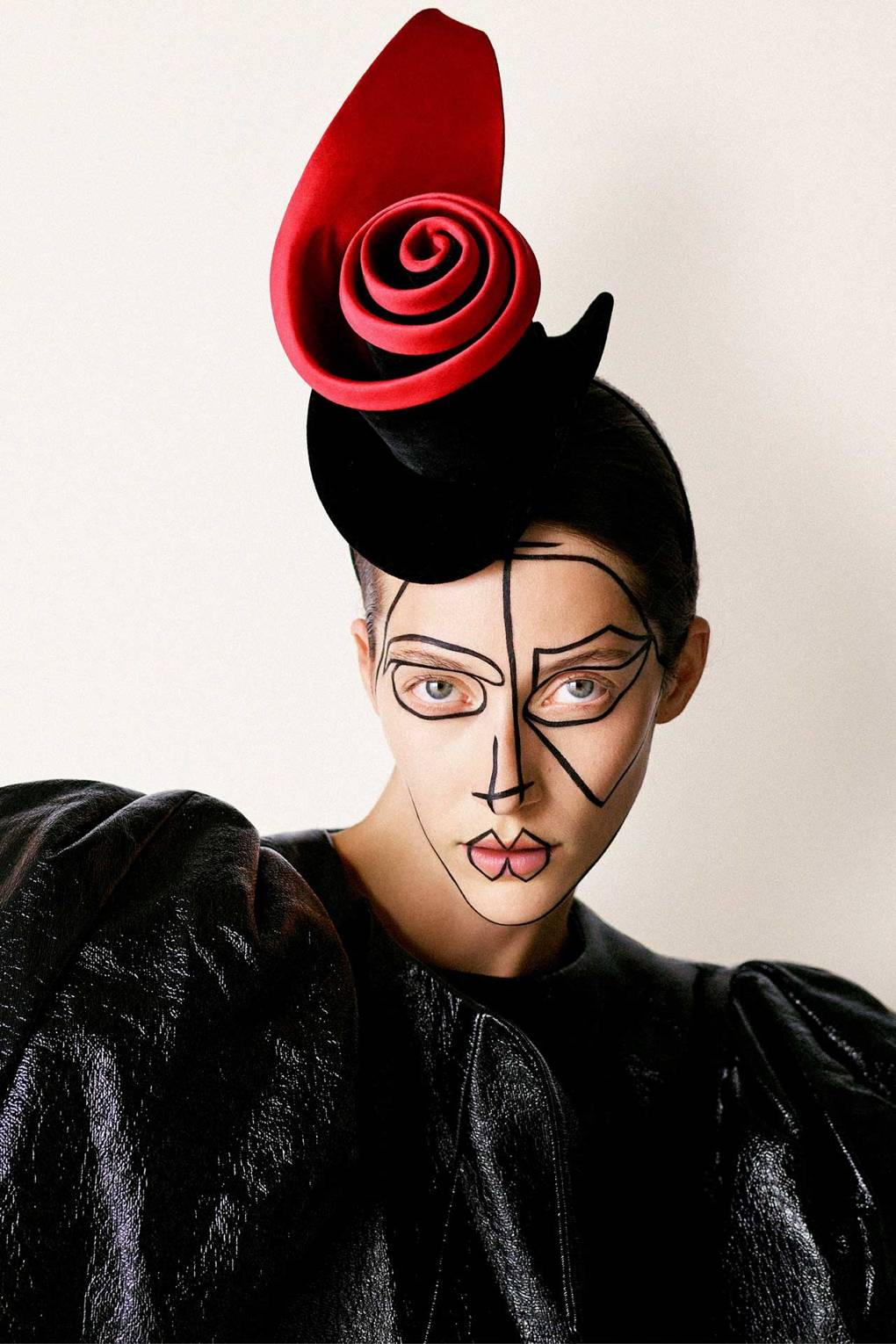 1b29d0cc1cc Stephen Jones gives Suzy Menkes hats for the Twelve Days of Christmas