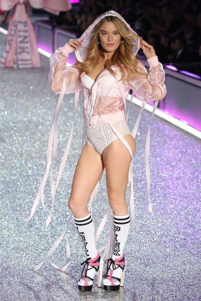 She's A Victoria's Secret Model