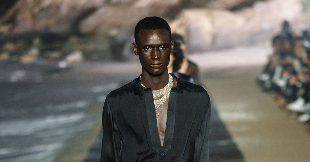 Saint Laurent Spring/Summer 2020 Menswear show report | British Vogue
