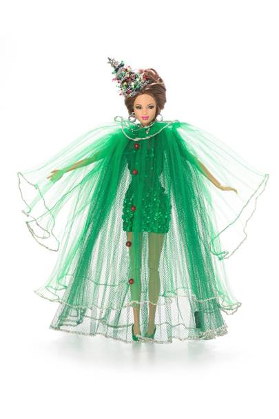 Christmas Tree Barbie