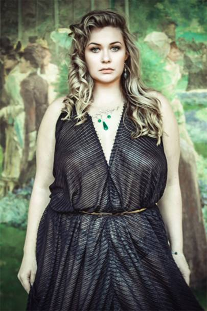 Beautiful Grecian Black Gown by Nanalola Couture