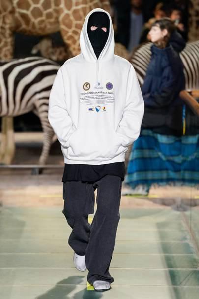 d9f00a7c4833d Vetements Autumn Winter 2019 Menswear show report   British Vogue