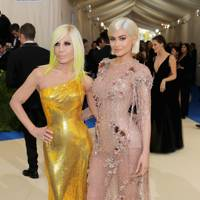 Donatella Versace and Kylie Jenner