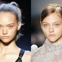 Gemma Ward and Sasha Pivovarova